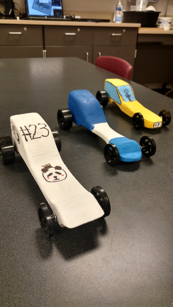 Principles of Technology- CO2 Car Racers