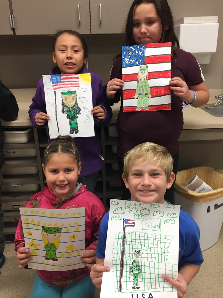 Third Grade Veterans Day Project