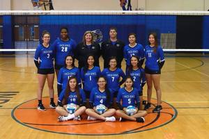 2018 Four Wind Minnewaukan Indians Volley Ball
