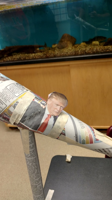 newspaper rollercoaster
